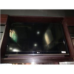 LG 34 inch flat screen TV. buyer must remove from wall mount - no remote or mounts included