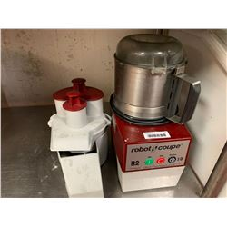 Robot coupe food processor with attachments