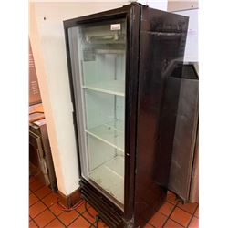Vendo Commercial Model VR 12 Glass door display refrigerator 5 ft high