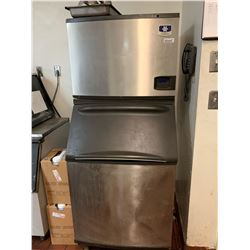 Manitowoc I series Ice Maker with LCD display. NOTE: ALL DISCONNECTIONS MUST BE