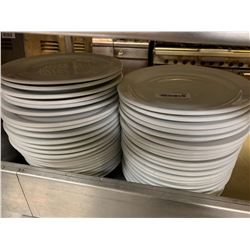Lot of 40 Round large dinner plates