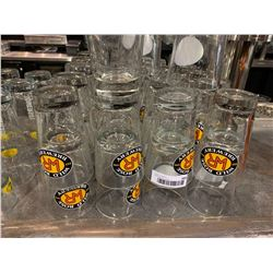 Lot of 40 Wild Rose Brewery Beer Pint glasses