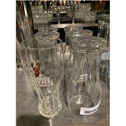 Lot of 6 Alexander Keiths Beer pint Glasses