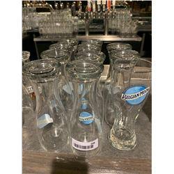 Lot of 11 Belgian Moon Beer pint glasses