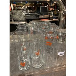 Lot of 16 Stiegl Beer pint glasses