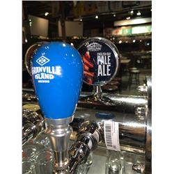 Lot of 2- Beer handle & display Plaque - Granville Island