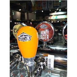 Lot of 2- Beer handle & display Plaque - Granville Island Honey Lager