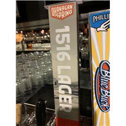 Beer Tap Handle - Okanagan Springs 1516 lager