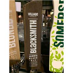 Beer Tap Handle - Village Brewery Blacksmith