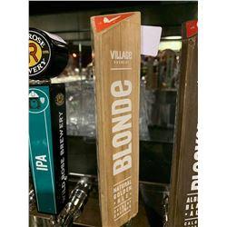 Beer Tap Handle - Village Brewery Blonde