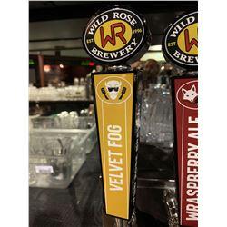 Beer Tap Handle - Wildrose Brewery Velvet Fog