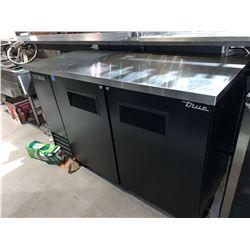 True Model TBB-2-HC Double Door Back Bar beverage cooler