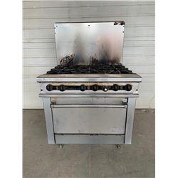 Thermatek6 Burner Range  Pick Up Location is Auction Depot 4215-11 street NE