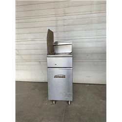 Imperial 40 LB open pot fryer natural gas  Pick Up Location is Auction Depot 42