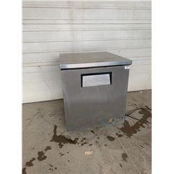 True27 inch under counter refrigerator  Pick Up Location is Auction Depot 4215-11 street NE