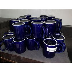 Lot of approx 26 coffee cups