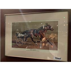 Framed Print of Gravel Gertie