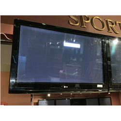 LG 39 inch flat panel tv - wall mounted - buyer must remove -no remote or mounts included