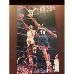 Large Basketball Wall Mural approx 5ft x 2.5ft