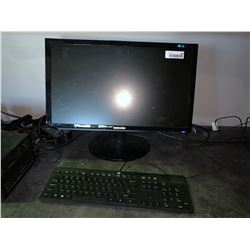 HP Desktop Computer with monitor & keyboard ( no specs)