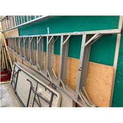 Aluminum 12 foot step ladder