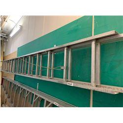 Aluminum 24 foot extention ladder