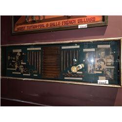 Shadow Box Cigars of History display