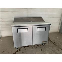 True 48 inch stainless sandwich service unit Pick Up Location is Auction Depot