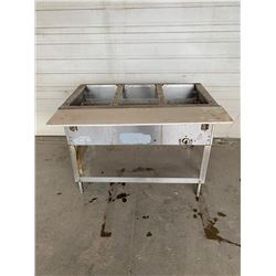 Aerohot triple well hot food table  Pick Up Location is Auction Depot 4215-11 st ne