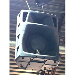EV Sx500 Loudspeaker -ceiling mounted- buyer must bring reach equipment to removal- over 20 ft from