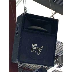 EV Loudspeaker -ceiling mounted- buyer must bring reach equipment to removal- over 20 ft from floor