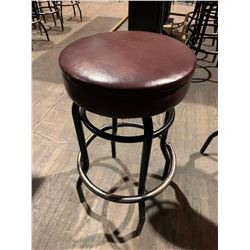 Metal Vinyl Padded Bar Stool