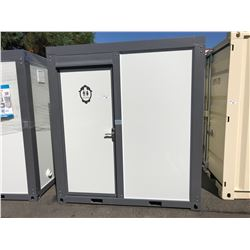 BRAND NEW BASTONE PORTABLE MOBILE TOILET WITH SHOWER, TOILET, SINK, MIRROR, WINDOW, FAN