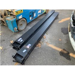 PAIR OF BRAND NEW GREATBEAR 10' 6600 LBS INDUSTRIAL EXTENSION FORKS