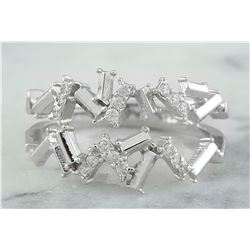 0.22 CTW 18K White Gold Diamond Ring