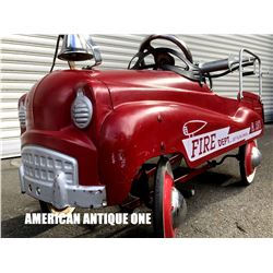 Fire Dept Ride On Pedal Car