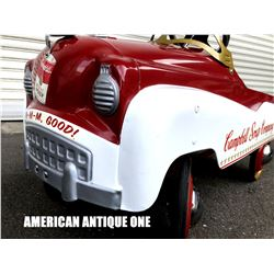 Campbell Soup Ride On Pedal Car