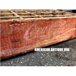 USA Coca-Cola Wooden Box
