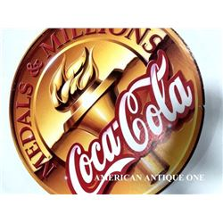 49cm USA Coca-Cola medal & Millions Olympic model