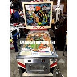 USA pinball machine outer space / Gottlieb 2 players