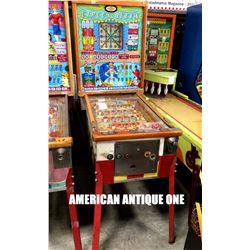 Circus Queen Bingo Machine Vintage