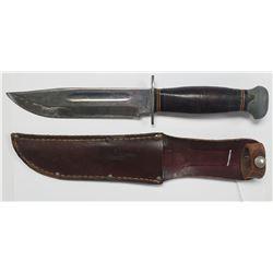 WWII Era PAL RH 36 Hunting/Fighting Knife W/Sheath