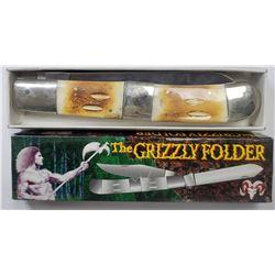 Ridge Runner "The Grizzley Folder" Large Folding K