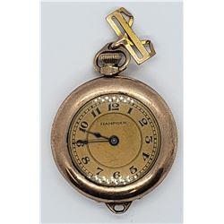 Antique Hampden Molly Stark Pendant Pocket Watch