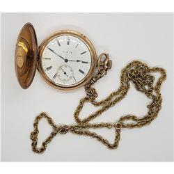 Stunning Antique Elgin Pocket Watch - 17 Jewels
