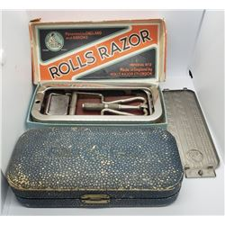 Antique Rolls Razor Imperial No. 2 Razor W/Travel