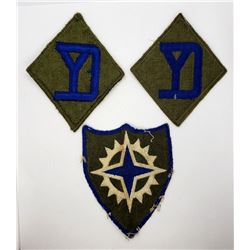 WWII XVI Corps & 26th Infantry Patches