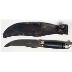 WWII Era Western Knife W/Swas On Butt