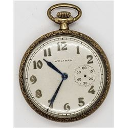 AMERICAN WALTHAM OPENFACE POCKET WATCH