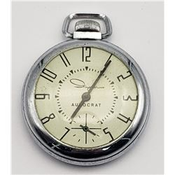 "Vintage Ingraham ""Autocrat"" Pocket Watch"